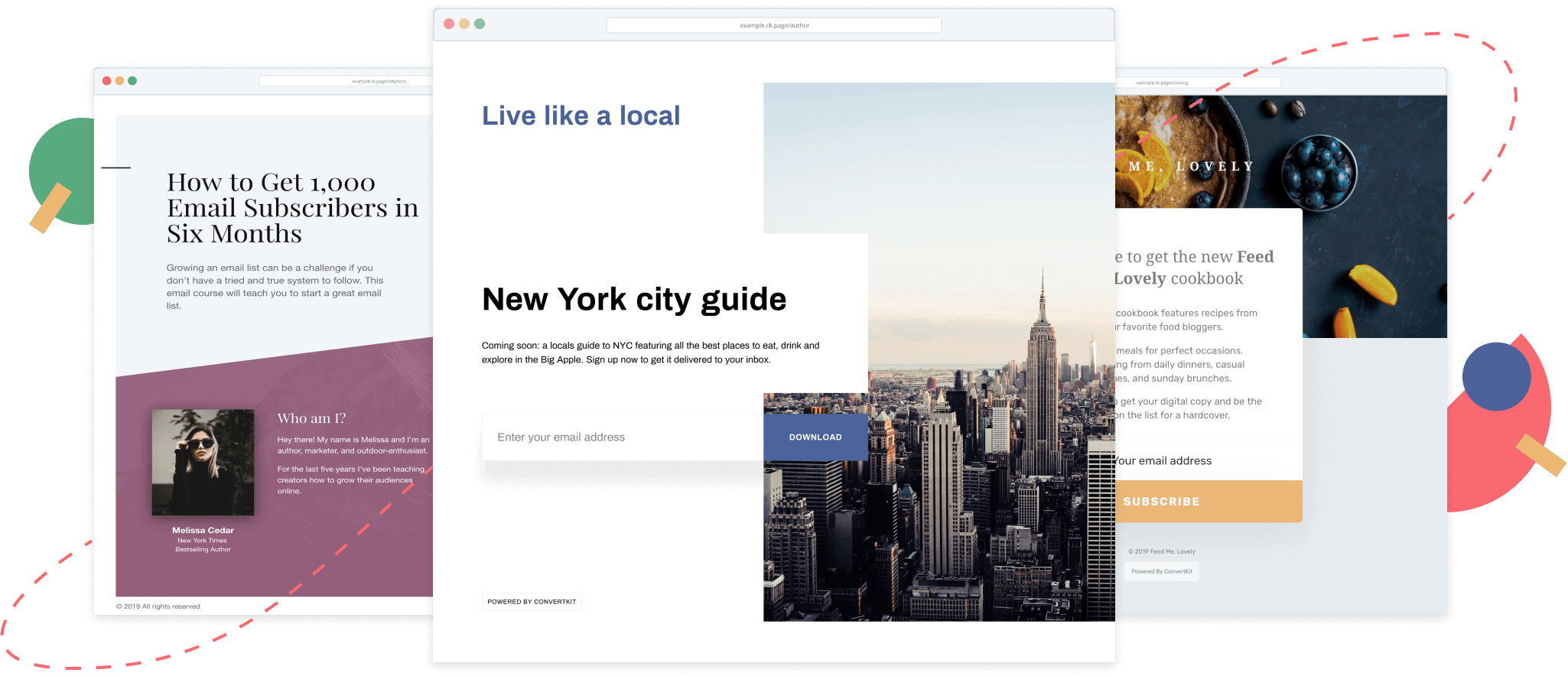 Build beautiful landing pages in minutes